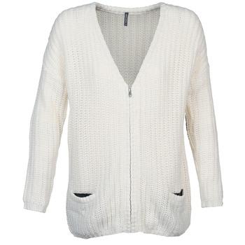 Textil Mulher Casacos de malha Naf Naf MEDEN Cru