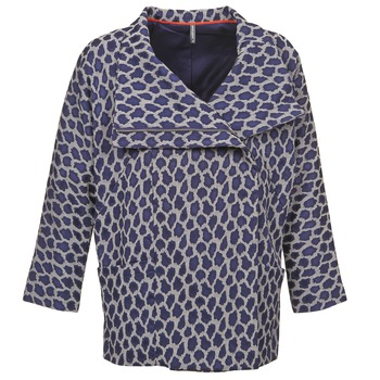 Textil Mulher Casacos Naf Naf ADARMELA Marinho