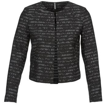 Textil Mulher Casacos/Blazers Naf Naf LYMINIE Cinza / Preto
