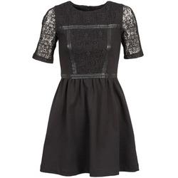 Textil Mulher Vestidos curtos Naf Naf OBISE Preto