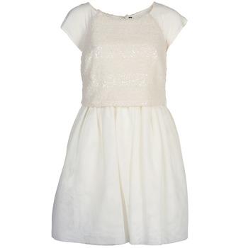 Textil Mulher Vestidos curtos Naf Naf LYMELL Branco