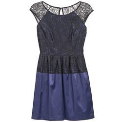 Textil Mulher Vestidos curtos Naf Naf LYLITA Preto / Marinho
