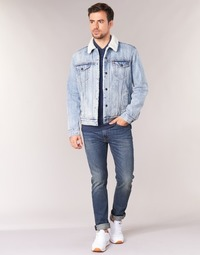 Textil Homem Gangas Skinny Levi's 510 SKINNY FIT Azul