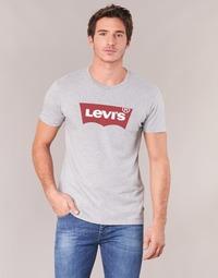 Textil Homem T-Shirt mangas curtas Levi's GRAPHIC SET-IN Cinza
