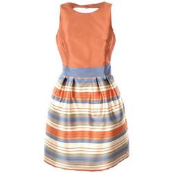 Textil Mulher Vestidos curtos Kocca Vestido ZEMANGA Preto