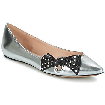 Sapatos Mulher Sabrinas Marc Jacobs RITA POINTY TOE Prateado