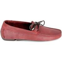 Sapatos Homem Mocassins TBS Bagnoli Bordeaux Vermelho