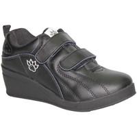 Sapatos Mulher Desportos indoor Kelme Esporte sapatos com cunha velcro  em preto negro