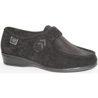 Sapatos Mulher Mocassins Doctor Cutillas Sapatos de velcro pés muito delicados em preto Cutillas Doctor negro