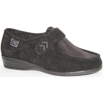 Sapatos Mulher Mocassins Doctor Cutillas Sapatos de velcro pés muito delicados em negro