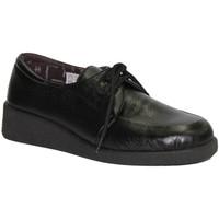 Sapatos Mulher Sapatos Doctor Cutillas Atacadores pés delicados em preto Cutillas Doctor negro
