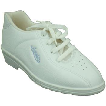 Sapatos Mulher Desportos indoor Alfonso Esporte sapatos com cunha muito confortável  em branco blanco
