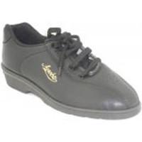 Sapatos Mulher Desportos indoor Alfonso Esporte sapatos com cunha muito confortável  em preto negro