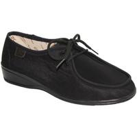 Sapatos Mulher Sapatos Doctor Cutillas Deslizamento Verão pés delicados Cutillas Doutor em preto negro