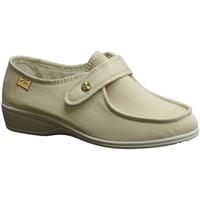 Sapatos Mulher Mocassins Doctor Cutillas Velcro Shoe  pés delicado beige