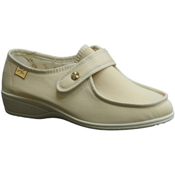 Sapatos Mulher Mocassins Doctor Cutillas Velcro Shoe  pés delicados em bege beige