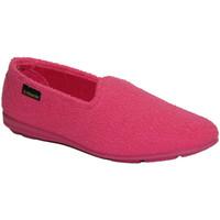 Sapatos Mulher Chinelos Made In Spain 1940 Sapato fechado em fúcsia toalha Alberola rosa