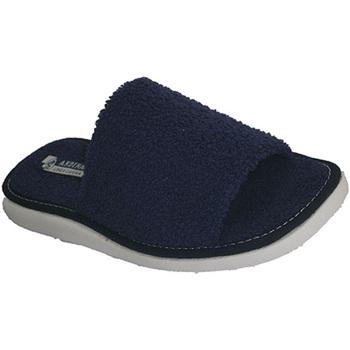 Sapatos Mulher Chinelos Andinas Abrir toalha toe chinelo toalha Marinha Andina azul