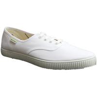 Sapatos Sapatilhas Muro Tênis de lona parede em branco blanco