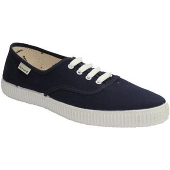 Sapatos Sapatilhas Muro Tênis de lona parede em azul azul