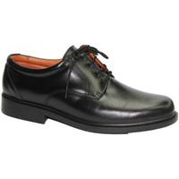 Sapatos Homem Sapatos Made In Spain 1940 Sapato muito confortável em preto suave negro