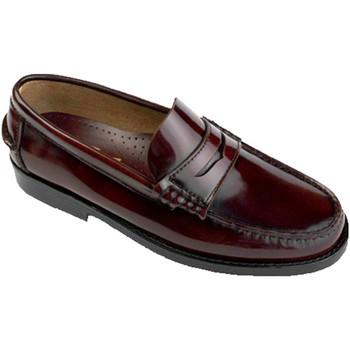 Sapatos Homem Mocassins Edward's Castellanos Borgonha violeta