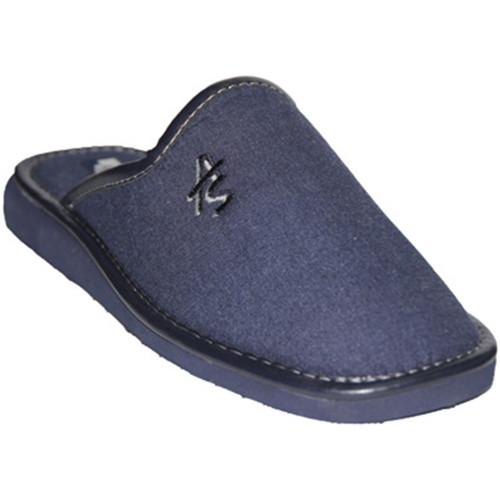 Sapatos Homem Chinelos Andinas Chinelos de dedo fechado em navy cavalei azul