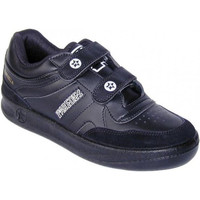 Sapatos Homem Sapatilhas Paredes Esportes clássico velcro  em preto negro