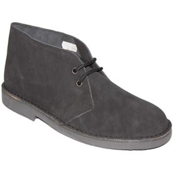 Sapatos Homem Botas baixas El Corzo Bota em safari sem forro preto negro