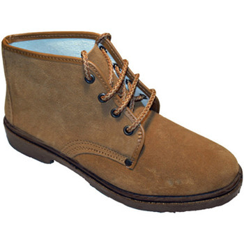 Sapatos Homem Botas baixas Vulsega Bota em camurça camelo trabalho marrón