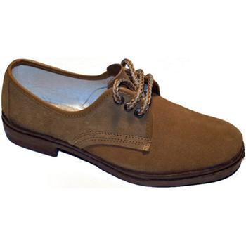 Sapatos Homem Sapatos Vulsega Cadarços trabalhar em camelo camurça marrón