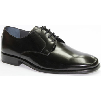 Sapatos Homem Sapatos Made In Spain 1940 Eu me visto atacadores em preto suave Gr negro