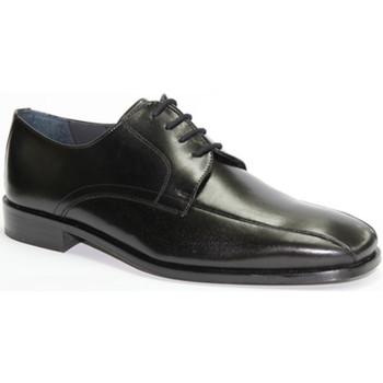 Sapatos Homem Sapatos Made In Spain 1940 I cadarços em cerimônia vestido preto Gr negro