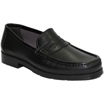 Sapatos Homem Mocassins Himalaya Muito confortável deslizamento mocassim negro