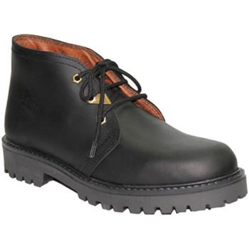 Sapatos Homem Botas baixas Otro Panamá laços do carregador em tipo negro negro
