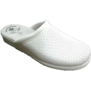 Sapatos Homem Tamancos Otro Clog de ??trabalho em branco blanco