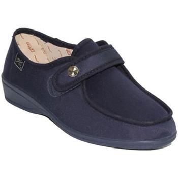 Sapatos Mulher Mocassins Doctor Cutillas Sapatos de velcro pés muito delicados em Navy azul