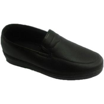 Sapatos Homem Mocassins Made In Spain 1940 Caranguejo sapato Trail no céu negro negro