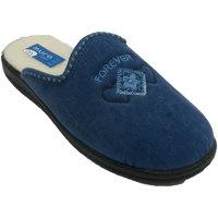 Sapatos Mulher Chinelos Muro Chinelo em azul tanga azul