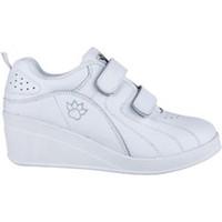 Sapatos Mulher Sapatilhas Kelme Esporte sapatos com velcro cunha  em branco blanco