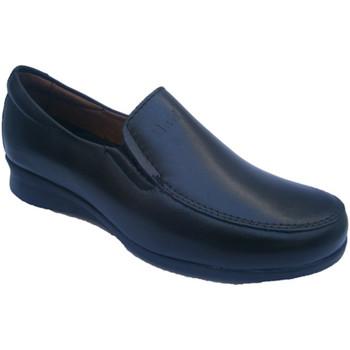 Sapatos Mulher Mocassins Pitillos Sapata do esporte muito confortável em p negro