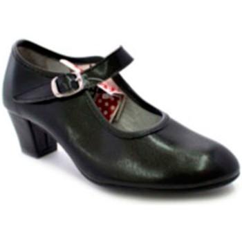 Sapatos Mulher Escarpim Carolina Guillo Saltos de sapatos para a menina dança e dama de preto negro