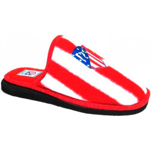 Sapatos Chinelos Andinas Atletico Madrid tipo chinelo sapatos ver rojo