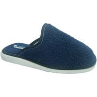 Sapatos Mulher Chinelos Andinas Fechado toalha toe chinelo toalha Marinha Andina azul