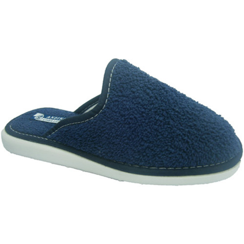 Sapatos Mulher Chinelos Andinas Fechado toalha toe chinelo toalha Marinh azul