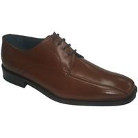 Sapatos Homem Sapatos Made In Spain 1940 Vestido Laços de sapata de couro Grimmal marrón