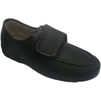 Sapatos Homem Mocassins Made In Spain 1940 Soca sapato confortável em couro sintéti negro