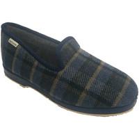 Sapatos Homem Chinelos Muro Chinelo Quarto Clássico em casa quadros azul