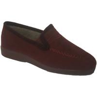 Sapatos Mulher Mocassins Made In Spain 1940 Fechado com meia granada cunha Soca violeta