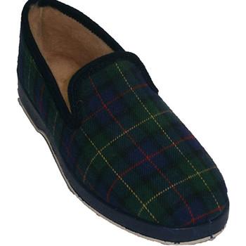 Sapatos Mulher Chinelos Made In Spain 1940 Soca em azul azul